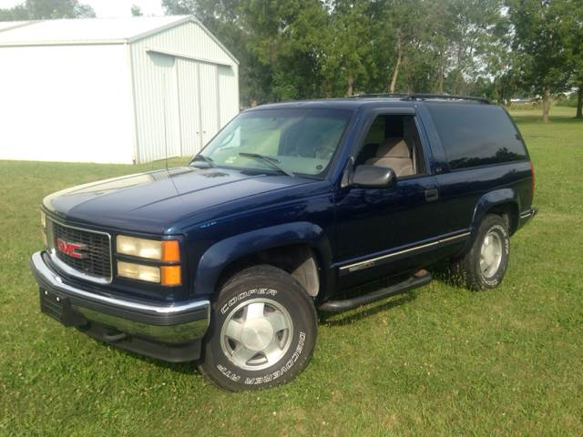 1995 GMC Yukon for sale at Goodland Auto Sales in Goodland IN