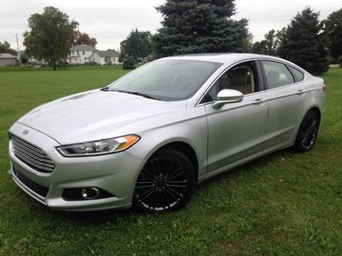 2013 Ford Fusion for sale at Goodland Auto Sales in Goodland IN