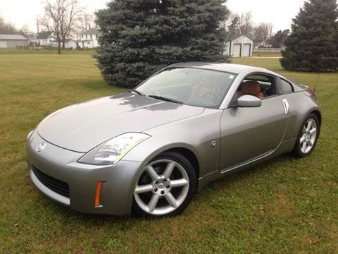 2005 Nissan 350Z for sale at Goodland Auto Sales in Goodland IN