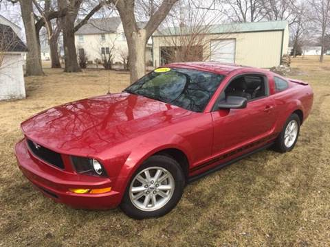 2008 Ford Mustang for sale at Goodland Auto Sales in Goodland IN