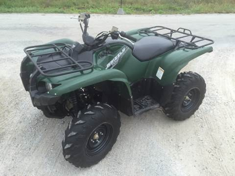 2014 Yamaha Grizzly for sale at Goodland Auto Sales - Lot 2 in Goodland IN