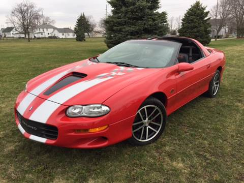 2002 Chevrolet Camaro for sale at Goodland Auto Sales - Lot 2 in Goodland IN