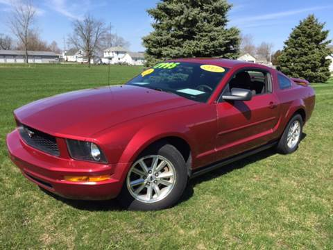 2007 Ford Mustang for sale at Goodland Auto Sales - Lot 2 in Goodland IN