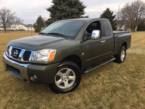 2004 Nissan Titan for sale at Goodland Auto Sales - Lot 2 in Goodland IN