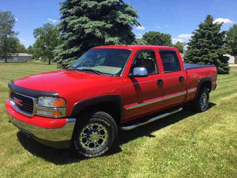 2001 GMC Sierra 1500HD for sale at Goodland Auto Sales - Lot 2 in Goodland IN
