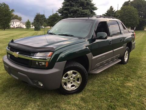2002 Chevrolet Avalanche for sale at Goodland Auto Sales - Lot 2 in Goodland IN