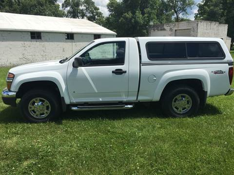 2007 GMC Canyon for sale at Goodland Auto Sales in Goodland IN
