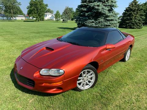 2001 Chevrolet Camaro for sale at Goodland Auto Sales in Goodland IN