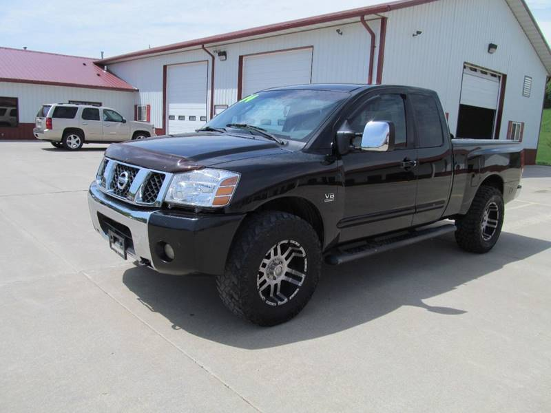 2004 Nissan Titan 4dr King Cab Xe 4wd Sb In Council Bluffs Ia New
