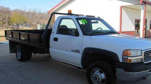 2001 GMC FLATBED NEW SIERRA SL for sale in Council Bluffs, IA