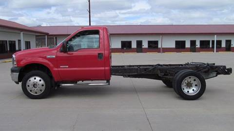 2007 FORD DIESEL4W  F350 CAB/CHAS for sale in Council Bluffs, IA