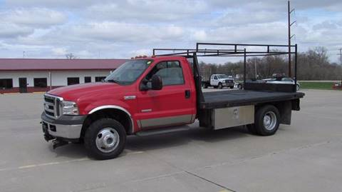 2005 FORD FLATBED F350-RACKS 4X4 for sale in Council Bluffs, IA