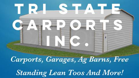 2017 Tri State Carports/Garages Metal Buildings for sale in David City NE