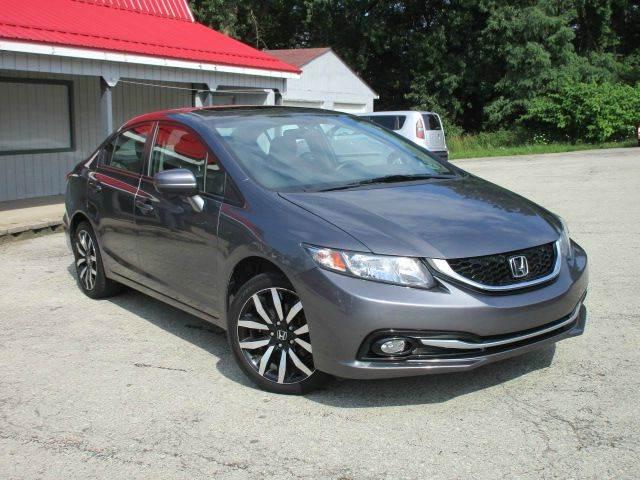 2014 Honda Civic EX-L 4dr Sedan w/Navi - Youngwood PA