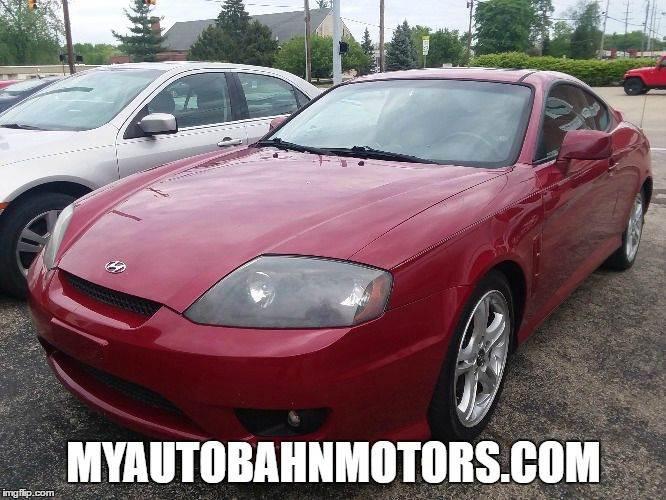2006 Hyundai Tiburon for sale at Autobahn Motors in Cincinnati OH