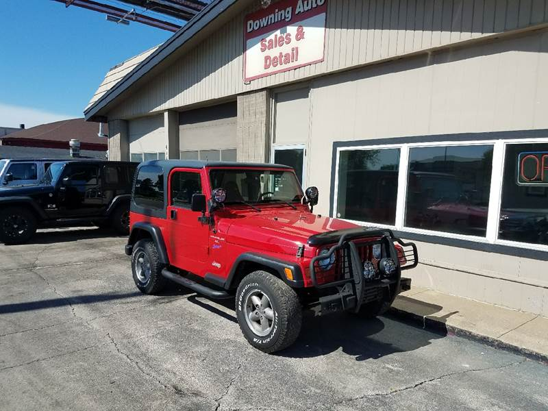 1998 jeep wrangler 2dr sport 4wd suv in des moines ia downing auto sales detail. Black Bedroom Furniture Sets. Home Design Ideas