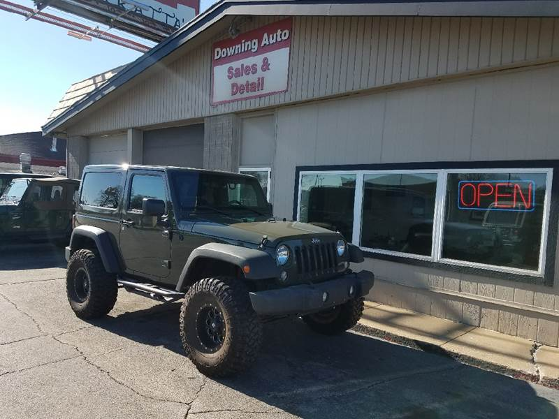 2015 jeep wrangler 4x4 sahara 2dr suv in des moines ia downing auto sales detail. Black Bedroom Furniture Sets. Home Design Ideas