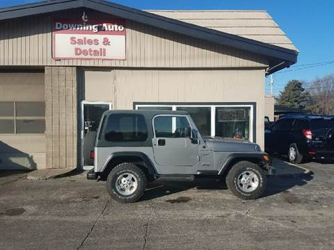 2002 jeep wrangler for sale in iowa. Black Bedroom Furniture Sets. Home Design Ideas