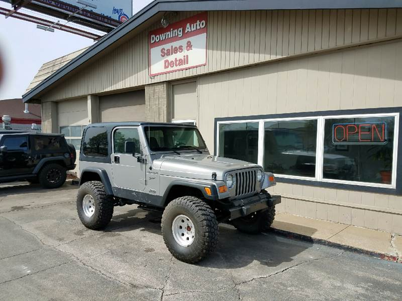 2002 Jeep Wrangler Sport 4WD 2dr SUV - Des Moines IA