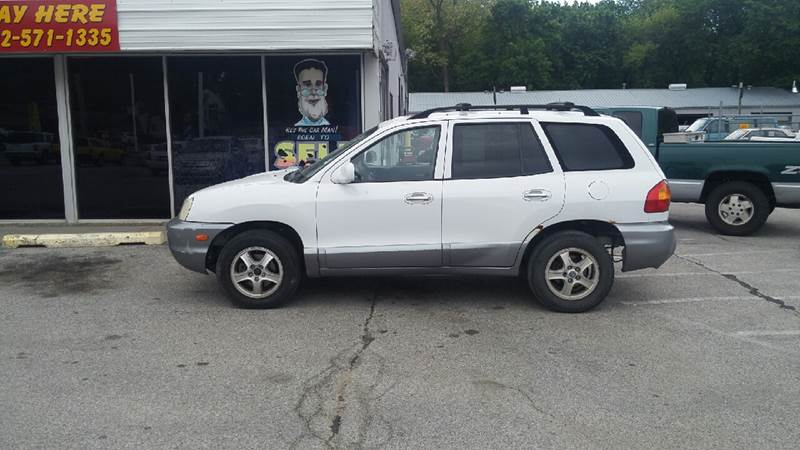 2001 Hyundai Santa Fe for sale at Paul Gerber Auto Sales in Omaha NE