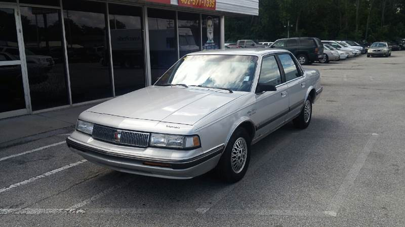 1991 Oldsmobile Cutlass Ciera for sale at Paul Gerber Auto Sales in Omaha NE