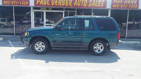 2001 Ford Explorer Sport for sale at Paul Gerber Auto Sales in Omaha NE