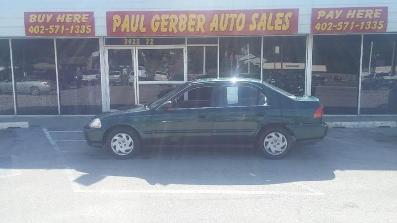 1996 Honda Civic for sale at Paul Gerber Auto Sales in Omaha NE