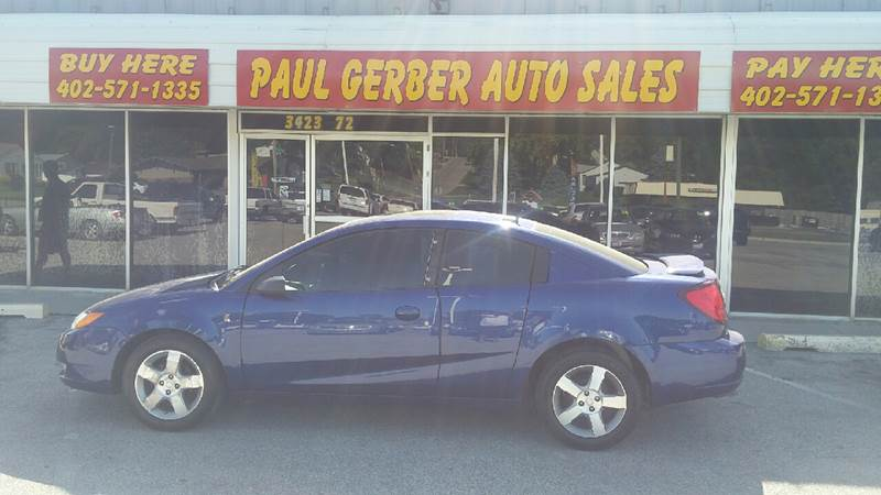 2006 Saturn Ion for sale at Paul Gerber Auto Sales in Omaha NE