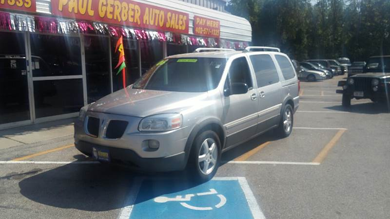 2006 Pontiac Montana SV6 for sale at Paul Gerber Auto Sales in Omaha NE