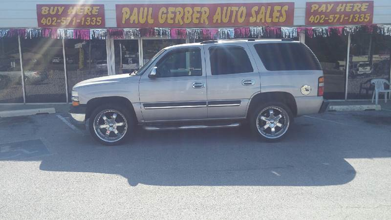 2005 Chevrolet Tahoe for sale at Paul Gerber Auto Sales in Omaha NE