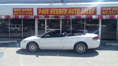 2004 Chrysler Sebring for sale at Paul Gerber Auto Sales in Omaha NE