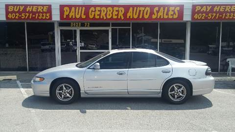 2000 Pontiac Grand Prix for sale at Paul Gerber Auto Sales in Omaha NE