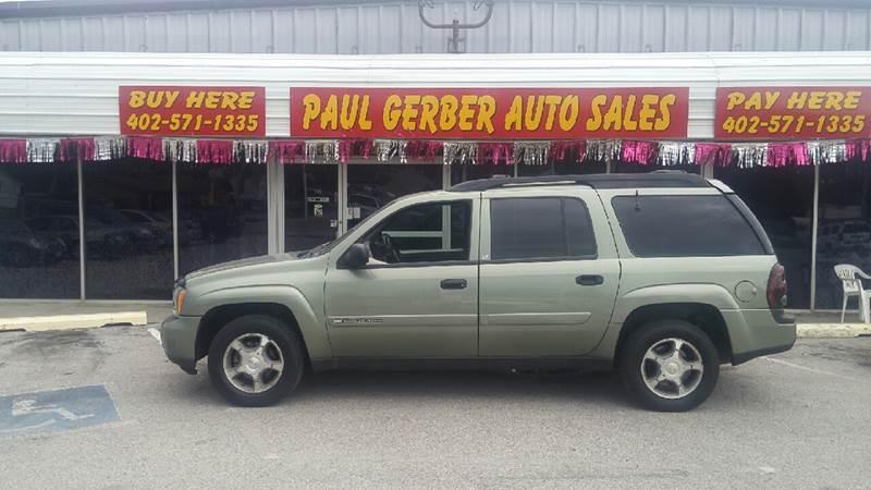 2003 Chevrolet TrailBlazer for sale at Paul Gerber Auto Sales in Omaha NE