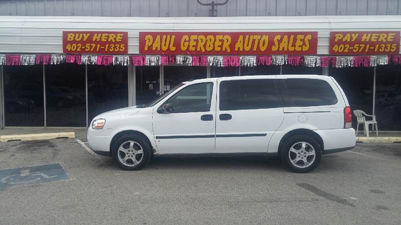 2008 Chevrolet Uplander for sale at Paul Gerber Auto Sales in Omaha NE