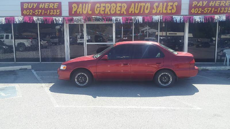 2001 Toyota Corolla for sale at Paul Gerber Auto Sales in Omaha NE