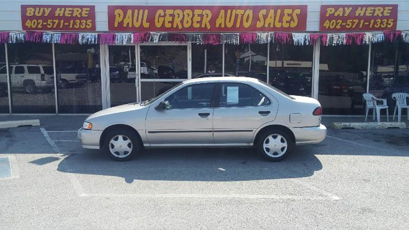 1998 Nissan Sentra for sale at Paul Gerber Auto Sales in Omaha NE