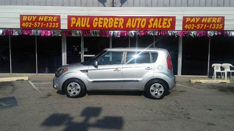 2013 Kia Soul for sale at Paul Gerber Auto Sales in Omaha NE