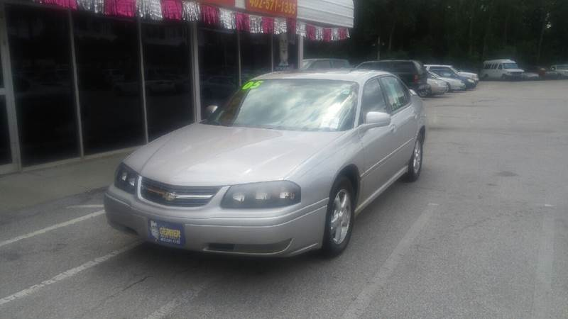 2005 Chevrolet Impala for sale at Paul Gerber Auto Sales in Omaha NE