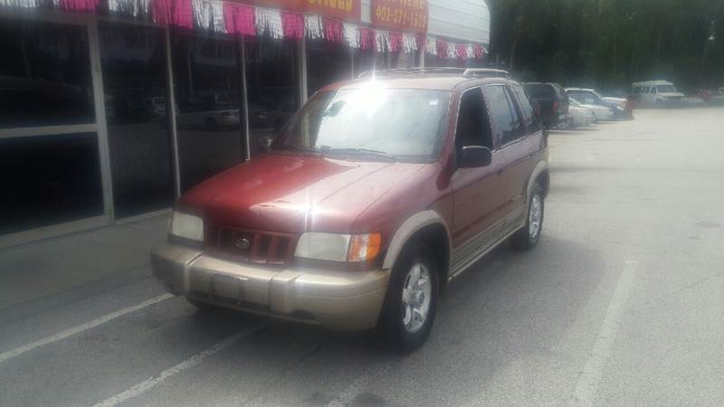 2002 Kia Sportage for sale at Paul Gerber Auto Sales in Omaha NE