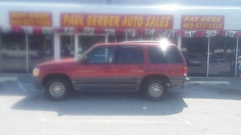 1999 Mercury Mountaineer for sale at Paul Gerber Auto Sales in Omaha NE