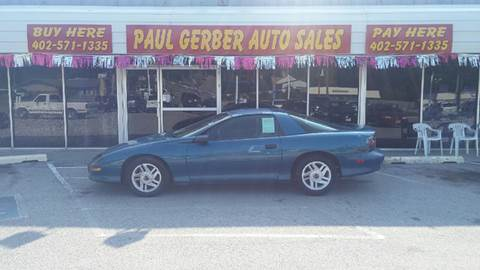 1996 Chevrolet Camaro for sale at Paul Gerber Auto Sales in Omaha NE