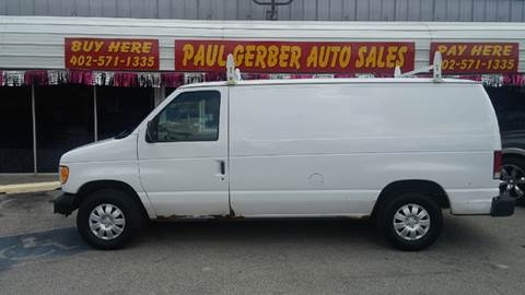2000 Ford E-150 for sale at Paul Gerber Auto Sales in Omaha NE