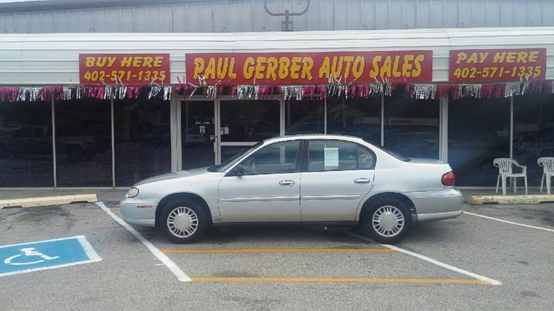 2002 Chevrolet Malibu for sale at Paul Gerber Auto Sales in Omaha NE
