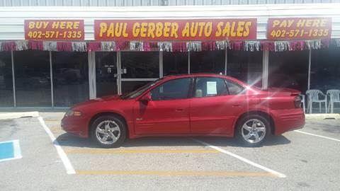 2004 Pontiac Bonneville for sale at Paul Gerber Auto Sales in Omaha NE