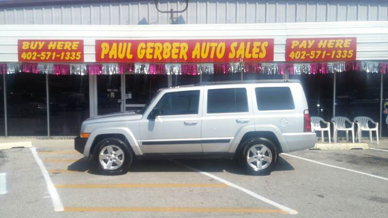2008 Jeep Commander for sale at Paul Gerber Auto Sales in Omaha NE