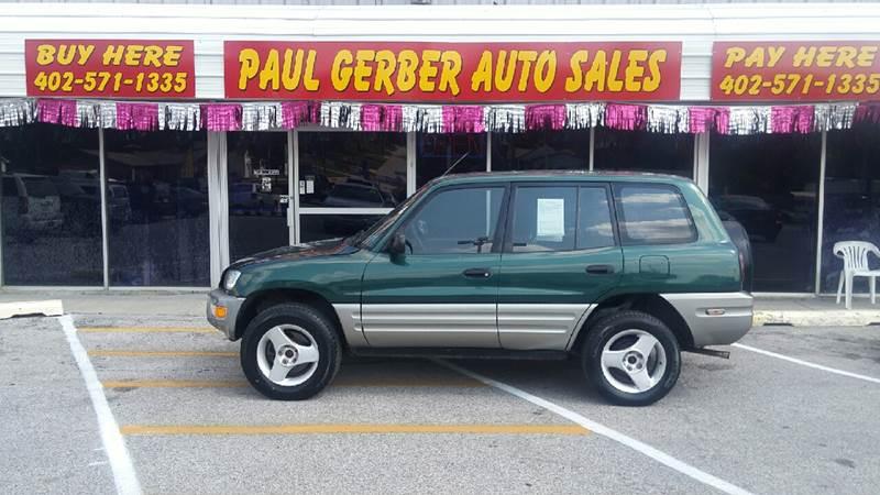 2000 Toyota RAV4 for sale at Paul Gerber Auto Sales in Omaha NE