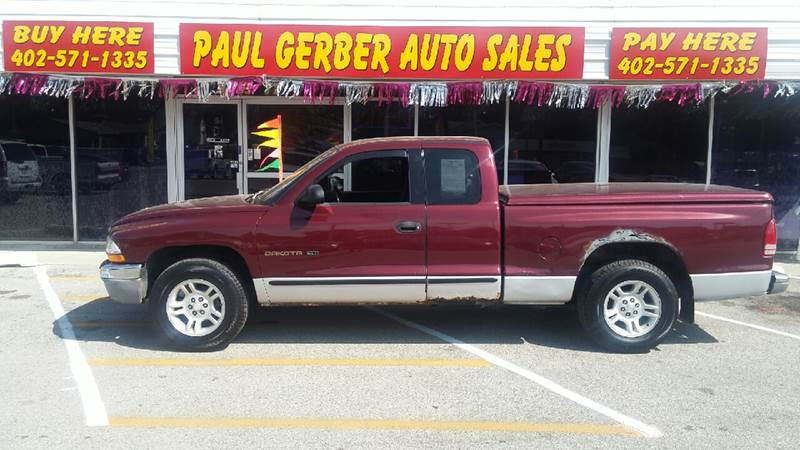 2001 Dodge Dakota for sale at Paul Gerber Auto Sales in Omaha NE