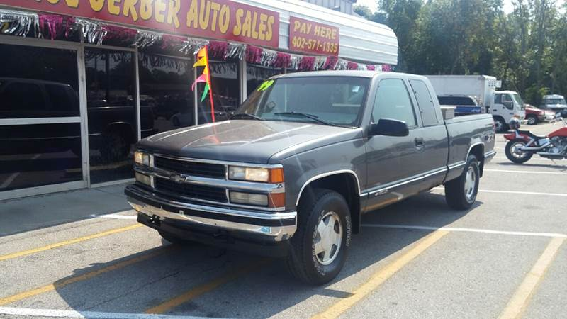 1999 Chevrolet C/K 1500 Series for sale at Paul Gerber Auto Sales in Omaha NE