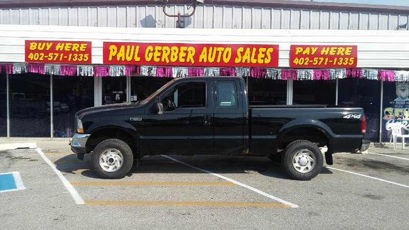 2004 Ford F-250 Super Duty for sale at Paul Gerber Auto Sales in Omaha NE