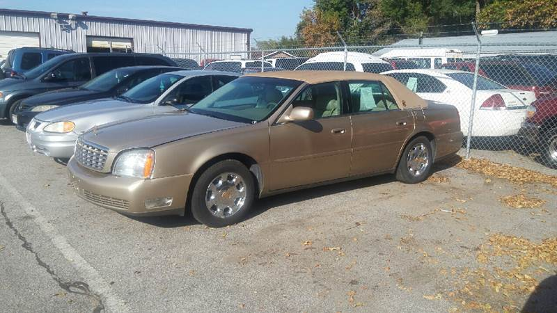 2005 Cadillac DeVille for sale at Paul Gerber Auto Sales in Omaha NE